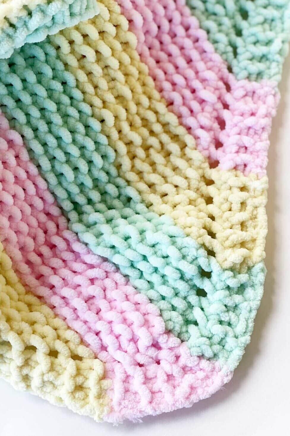 Corner To Corner Baby Blanket Pattern Handy Little Me
