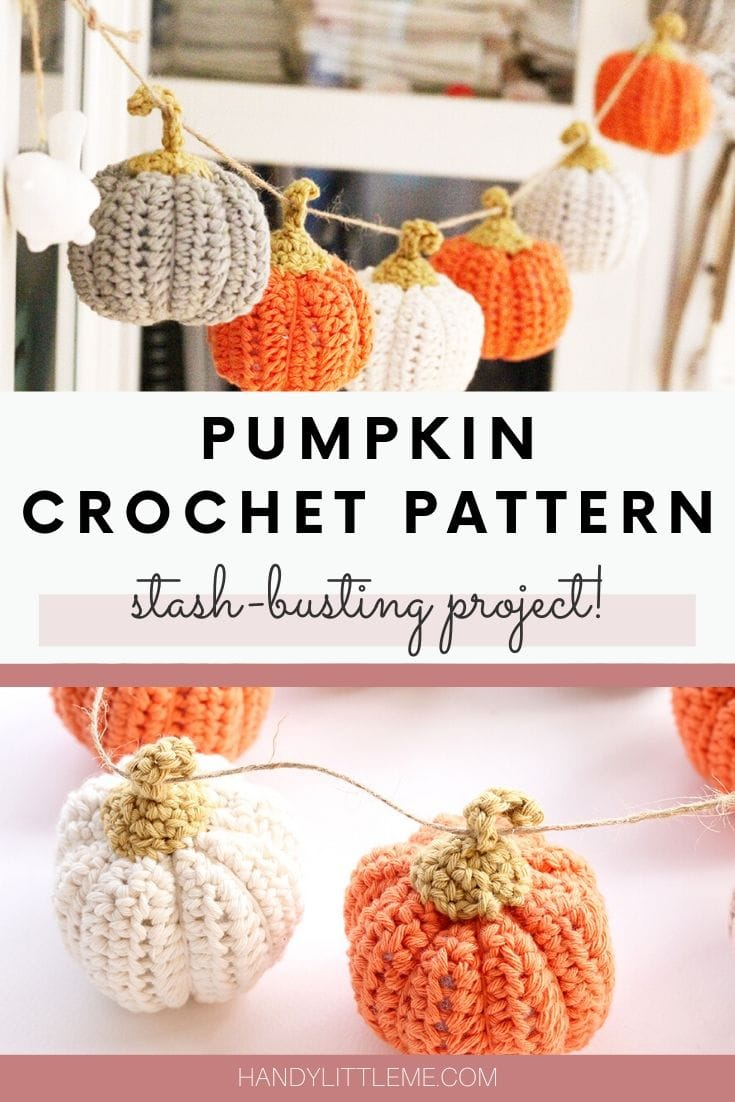 Pumpkin Crochet Pattern Easy And Quick Handy Little Me