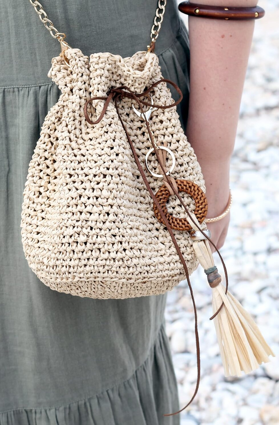 Crochet Drawstring Bag Pattern Handy Little Me